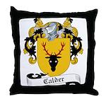 Calder Family Crest Throw Pillow
