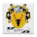 Calder Family Crest Tile Coaster