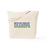 Worlds Coolest Grandpa Tote Bag