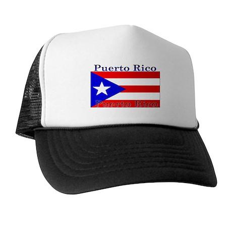 Puerto Rico Rican Flag Trucker Hat