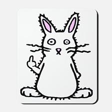 Attitude Bunny Mousepad