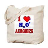 Aerobics instructor Canvas Totes