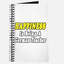 """""""Happiness...German Teacher"""" Journal"""
