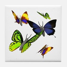 3D Butterfly Tile Coaster