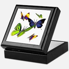 3D Butterfly Keepsake Box