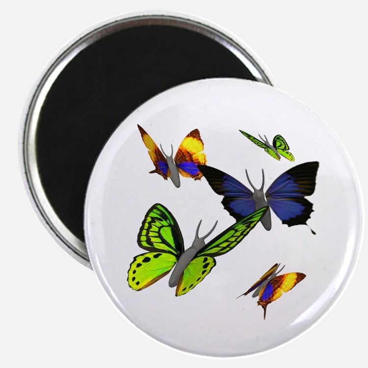 "3D Butterfly 2.25"" Magnet (10 pack)"