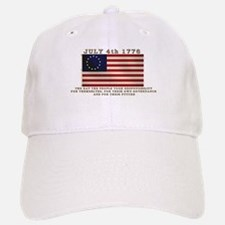 July 4th Flag Baseball Baseball Cap