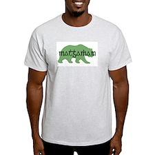 Irish Gaelic Bear Ash Grey T-Shirt