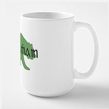 Irish Gaelic Bear Large Mug