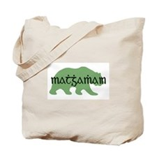 Irish Gaelic Bear Tote Bag