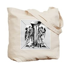 Blowing in the Wind Instrument Tote Bag