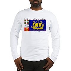 St Pierre & Miquellon Long Sleeve T-Shirt