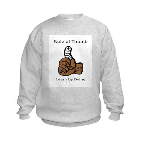 Learn by Doing Kids Sweatshirt