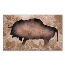 Bison Rectangle Decal