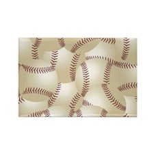 Baseball Collage Gifts Rectangle Magnet