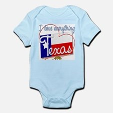 I Love Everything Texas Infant Creeper