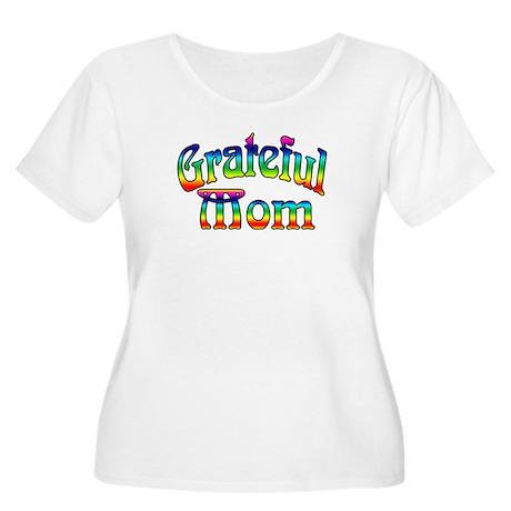 Women's Plus Size 'Grateful Mom' T-Shirt