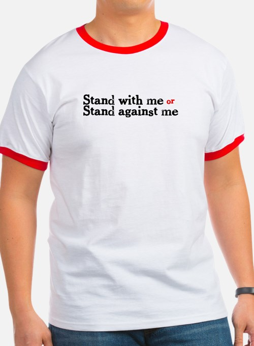 'Stand with me' T