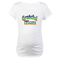 Maternity 'Grateful Mom' T-Shirt