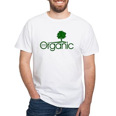 I'm Organic White T-Shirt