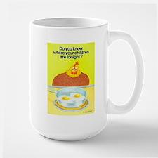 """Where's Your Children?"" Large Mug"