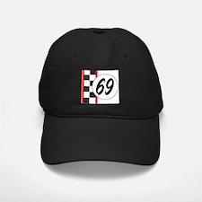 Vintage 69 retro racing Baseball Hat