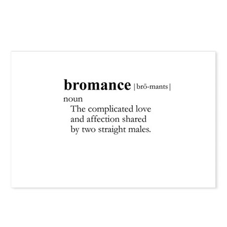 BROMANCE / Gay Slang Postcards (Package of 8)