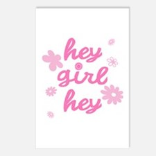 HEY GIRL HEY Postcards (Package of 8)