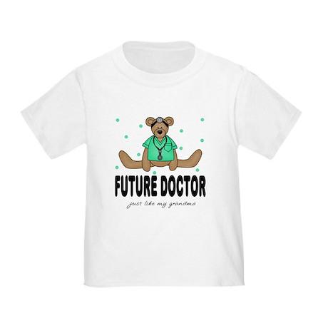 Future Doctor Like Grandma Toddler T-Shirt