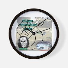 PJ Jones Racing w/PEO Pros Wall Clock
