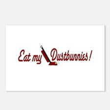 Eat My Dustbunnies Postcards (Package of 8)