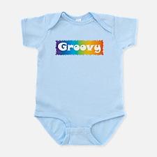 Groovy cl block Infant Bodysuit