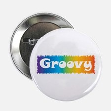 "Groovy cl block 2.25"" Button"