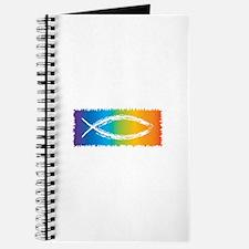 Retro Jesus Fish Journal