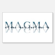 M.A.G.M.A Rectangle Decal