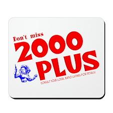 2000 Plus #2 Mousepad