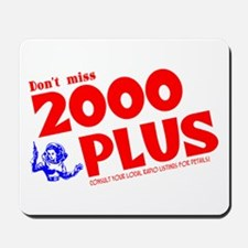 2000 Plus #2 Mousepad