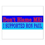 Don't Blame ME-RP Small Poster