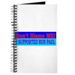 Don't Blame ME-RP Journal