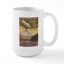 Lassen Volcanic National Park WPA Poster Mug