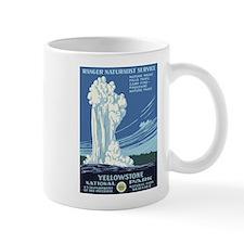 Yellowstone National Park WPA Poster Mug