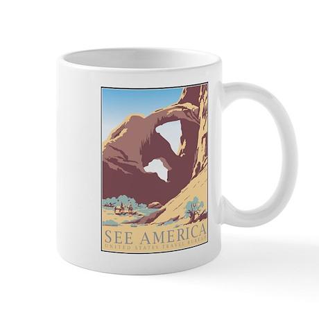 Arches National Park WPA Poster Mug