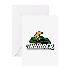 Oakland Thunder Greeting Card