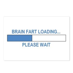BRAIN FART LOADING... Postcards (Package of 8)