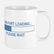 BRAIN FART LOADING... Small Small Mug