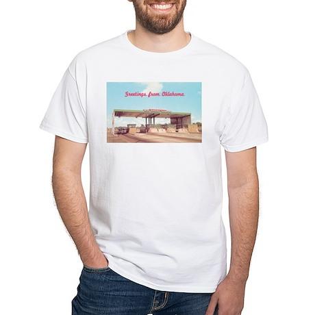 White T-Shirt - Welcome to Oklahoma