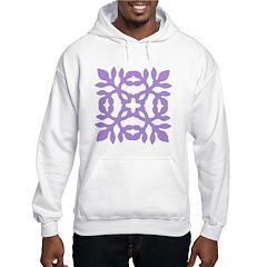 Lilac Papercut Hoodie