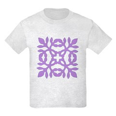 Lilac Papercut T-Shirt