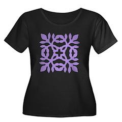 Lilac Papercut T