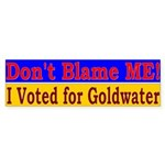 Don't Blame ME-BG Bumper Sticker (50 pk)
